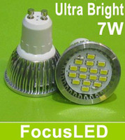 Wholesale AC V GU10 W Led Light Bulbs SMD LM Ultra Bright Warm White Led Lamp