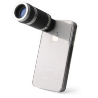 Wholesale Telescope X Zoom Camera Case Holder for iiPhone S