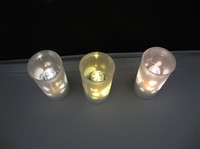 Wholesale Hot Selling Freeshipping Christmas LED Candle Light Voice Control Electronic Candle