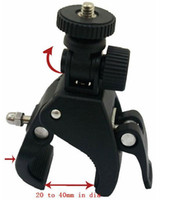 Wholesale Bicycle Bike Motorcycle Handlebar Mount Tripod for Camera Digital Video degree swivel head