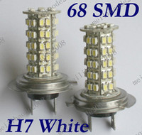 Wholesale 20pcs G99 V DC Car H7 SMD LED Head Light Headlight Bulb Lamp
