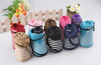 Wholesale cap of adults empty top hat straw hat striped beach hats large brimmed sun hat