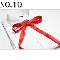 Wholesale ascot cravat tie knots bow tie necktie men s ties self tie women s bowties bow ties neck ties