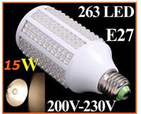 best seler - Best Seler E27 E14 B22 W LED V V V Corn Light Bulb Lamp Warm White K