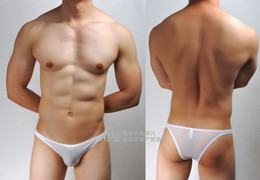 Wholesale cheap Men s Super Sexy Bikini Milk like fiber Low rise underwear Brief Sale