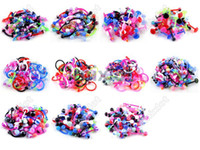Wholesale 110pcs Body Jewellery Nipple Lip Tongue Eyebrow belly Barbell Rings Imixlot Jewelry BC01 BC11