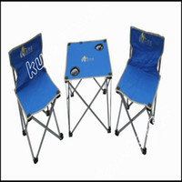 Wholesale 3colour midde Fashion beach chair Outdoor leisure and sports equipment FoldingTables Chairs Set STY6