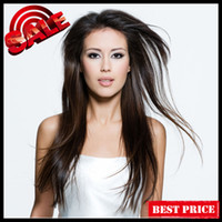 Wholesale 100 Malaysian Virgin Human Hair Full Lace Wigs Inch Silky Straight Nature Color DHL Free