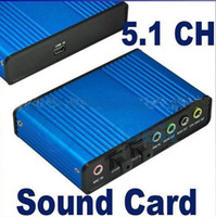 Wholesale 6 Channel Optical Audio USB Sound Card S PDIF