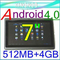 Wholesale EMS Allwinner A13 quot Multi A8 Capacitive screen Android tablet pc MB GB P1