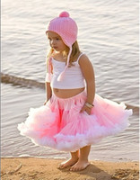 Summer tutu skirts - baby vest skirt baby pettiskirt tutu skirt girl top baby dress set dancing ski