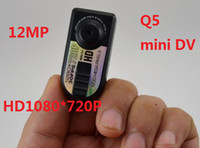 without thumb camera - HD720P digital camera mini dv Q5 with million pixels amp Thumb DV camera