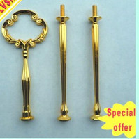 Wholesale 3 tiers cake stand handles Cake Stand Handle Fitting decorative metal wedding