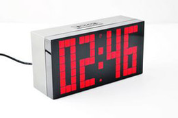 Wholesale ALARM CLOCK LED DIGITAL CLOCK RED WHEATHER STATION from cartire seller