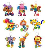 Wholesale 13design Lamaze Educational Toys Baby TOYS crib toys lamaze toys velvet mixed Giraffe