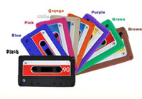 cassette case - Retro Cassette Tape Silicone Case Cover for iPhone G Gs Cassette Tape Silicone Case