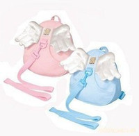 Wholesale Angel wings baby Walking Wings Anti lost Toddler Reins Backpack baby safety harnesses backpack