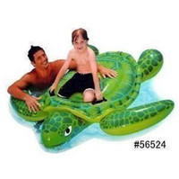 Wholesale INTEX56524 Big turtle floating row seat Inflatable float row water toys water row beach toys FP24