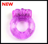 Silicone vibrating condom ring - Best price vibrating ring cock ring sex toys sex vibrator small gifts penis ring with Condom