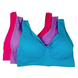 Wholesale Leisure Women Seamless Bra Comfort Bras Come with New Color