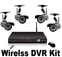 Wholesale 2012 New Channel Wired and Wireless Signal Input Multifunction CCTV Dvr Camera Ch Wireless DVR