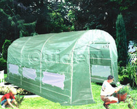 Wholesale 12 x7 x7 Large Walk in Greenhouse w Green Leno Full Closed portable to US