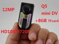 thumb camera - HD720P digital camera mini dv Q5 with gb tfcard million pixels amp Thumb DV camera