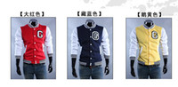Wholesale 2012 men s C letters sports jacket baseball jacket M L XL XXL2236