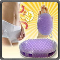 Body Bath Massager Slimming Glove Scrubber Fat Remover