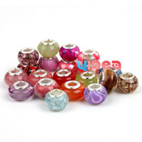 Wholesale 200pcs Mixed Items Resin Ball Beads Charms beads Fit Bracelets Necklaces Earrings DIY