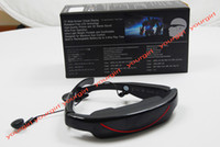 Wholesale Wide screen HD Video glasses quot virtual cinema LCD display video Music D e book USB2