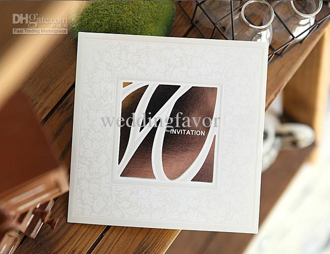 Unique Wedding Gifts Canada : Unique Hollow Wedding Invitation Card, Gb113,Wedding Gifts , Wedding ...