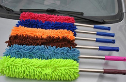 Wholesale Straight spout car duster Coral brush vehicle duster wax trailers Easily Removes Dust free CPA
