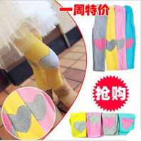 Wholesale 5pcs Girls love beautiful fashion colored pants legging kids clothes tights colors