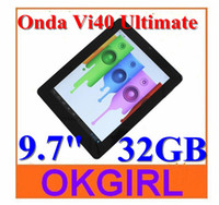 Wholesale 2012 New Onda Vi40 Ultimate GB inch Android Tablet PC A10 GHz GB DDR3 Cameras WiFi