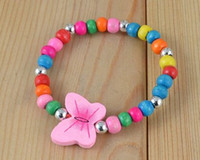 Wholesale Children jewelry best baby products children kid jewelry set handmade butterfly necklace
