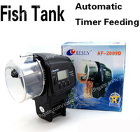 Wholesale New Digital Automatic Auto Aquarium Tank Fish Food Feeder Feeding Timer LCD