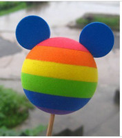 aerial toppers - Hot New Colours Mickey Car Aerial Ball Antenna Topper Car Antennas Car Exterior with tracking number