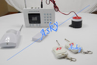 Wholesale Wireless Home Security Alarm Systems Kit Burglar Alarm Wireless Home Security Set New Arrival