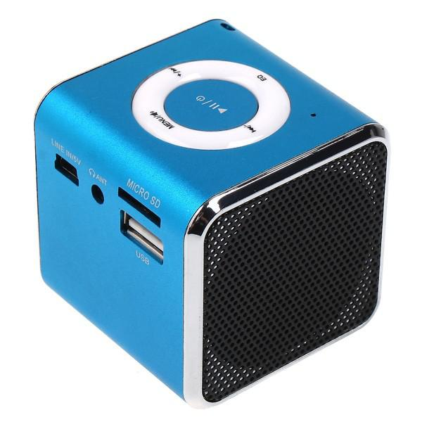 Mini Speaker Mp3 Player Amplifier Suport Micro Sd Tf Card