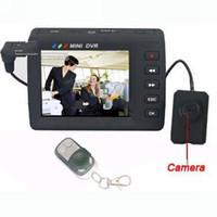 0   Spy Camera High Resolution Mini DVR Button Pinhole Video Camera Portable DVR Recorder