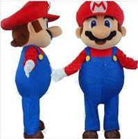 Wholesale new Custom Products Plush Cartoon Character Costume Super Mario mascot
