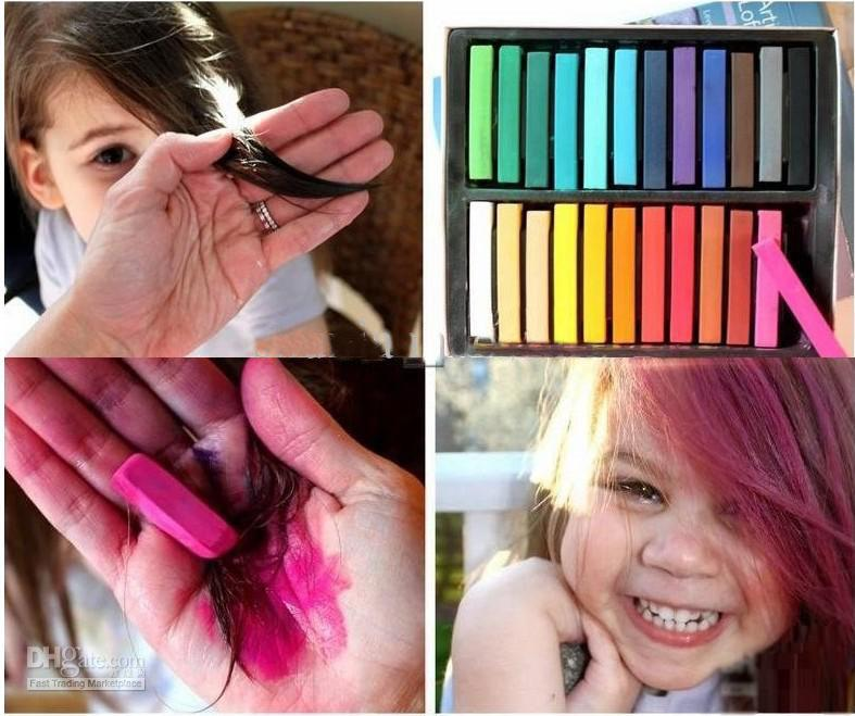 Hot Selling Temporary Hair Color Dye Pastel Chalk Bug Rub