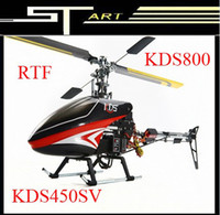 Wholesale KDS SV RC Helicopter CH RTF remote control Ready to fly KDS450SV KDS800 Gyro today s special