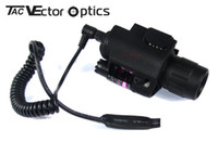 Wholesale of Tactical Vector Optics Pistol LED Flashlight Red Laser Combo Sight M6 Weapon Light