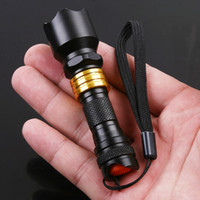 Wholesale 3W Mini Aluminum LED Flashlight Waterproof Torch for Camping Sporting hiking home use H8435