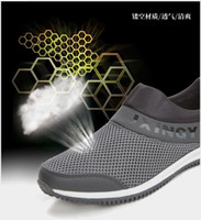 Wholesale Summer new soft bottom casual men s shoes breathable sports and leisure shoes cloth shoes couple sh