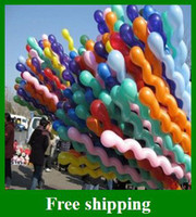 Wholesale Hot Sales Screw Balloon Spiral Balloons Wedding Birthday Party Christmas Kids toys