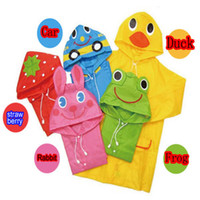 Wholesale Animal Raincoat For Kids Children s Raincoat Kids Rain Coat Children s rainwear Baby Rain coat