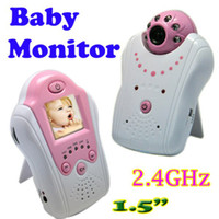 Wholesale 2 GHZ Wireless Camera Voice Control Baby Monitor Inch TFT LCD